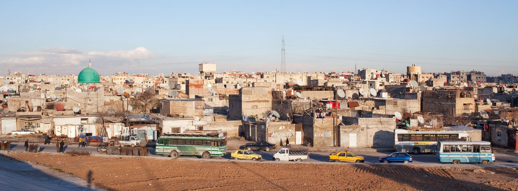 A 'Palestine refugee camp' in Syria