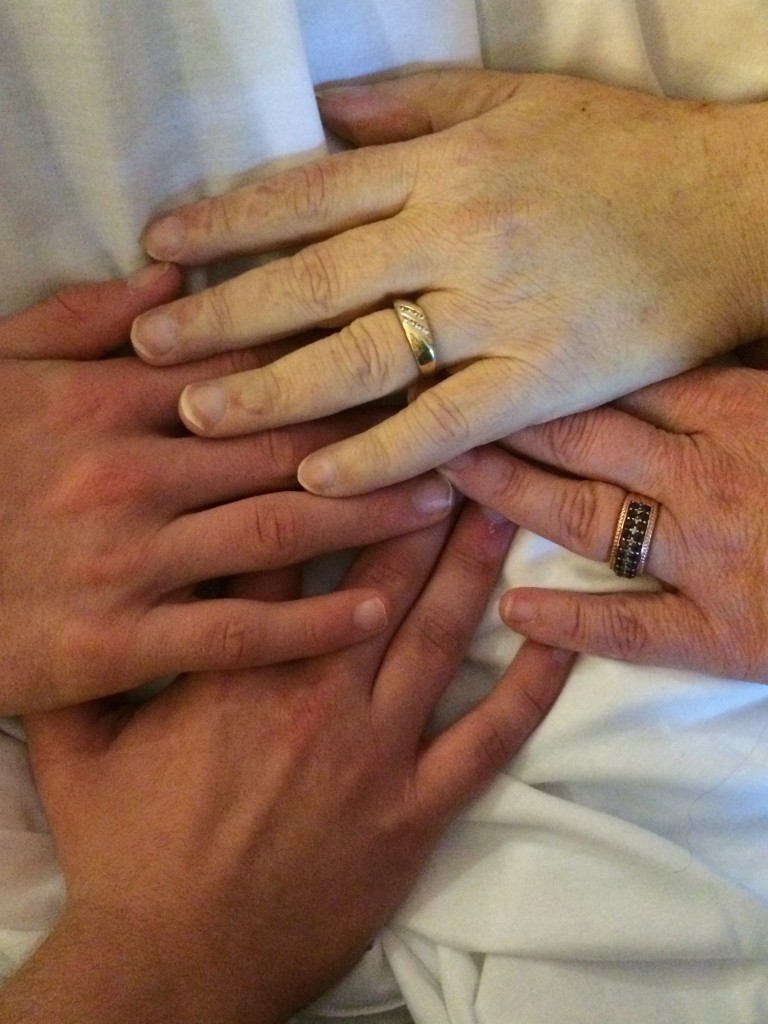 The Walters' Family Hands