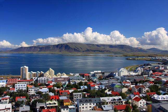 Reykjavík offers great views, if not great world-views
