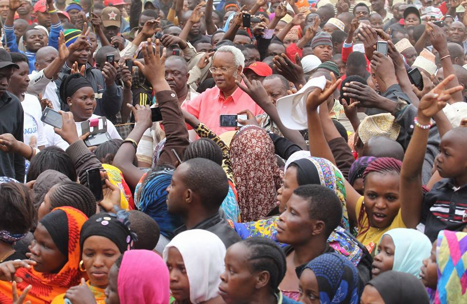 Lowassa draws record crowds throughout Tanzania while campaigning. This election is expected to be the closest ever in Africa.