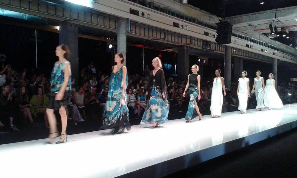 Maskit's show at Gindi Tel Aviv Fashion Week (Photo: Simone Somekh)