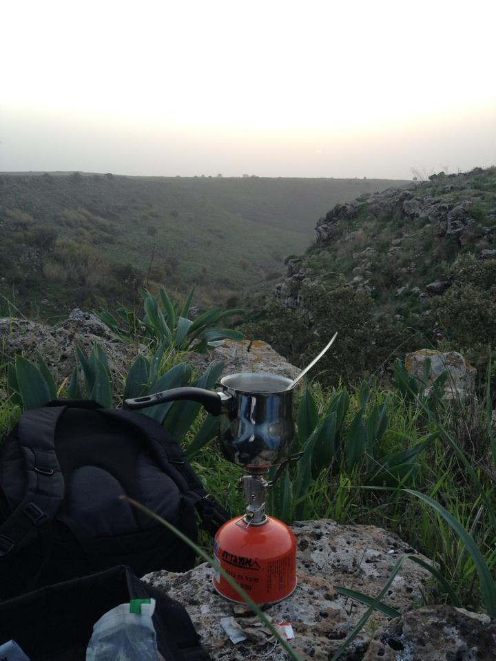 Pakal Cafe in the North of Israel