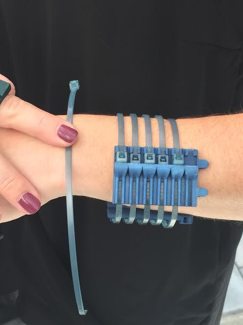 Cable-tie Bracelet