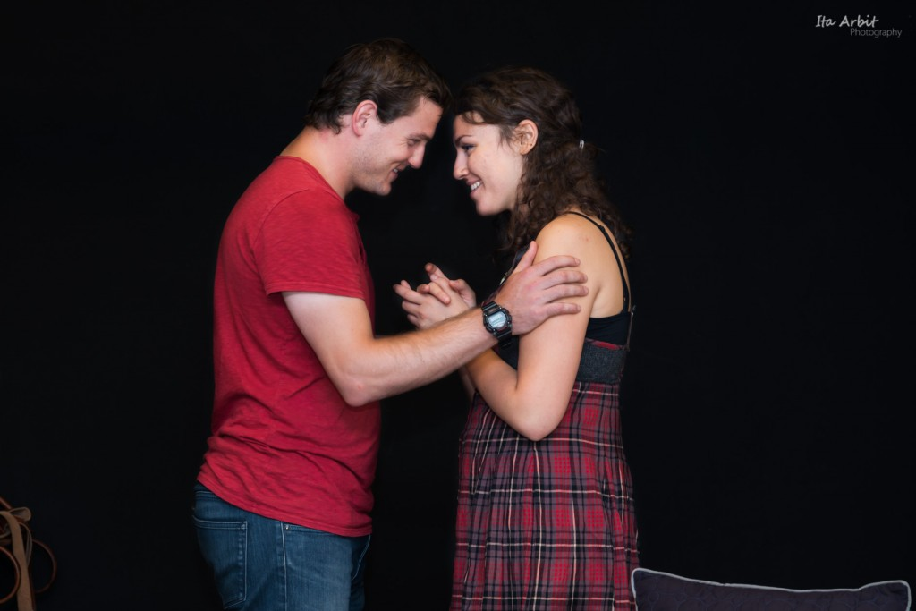 Characters of Henry and Natalie portray young love and hope in 'Next to Normal' (Credit: Ita Arbit)