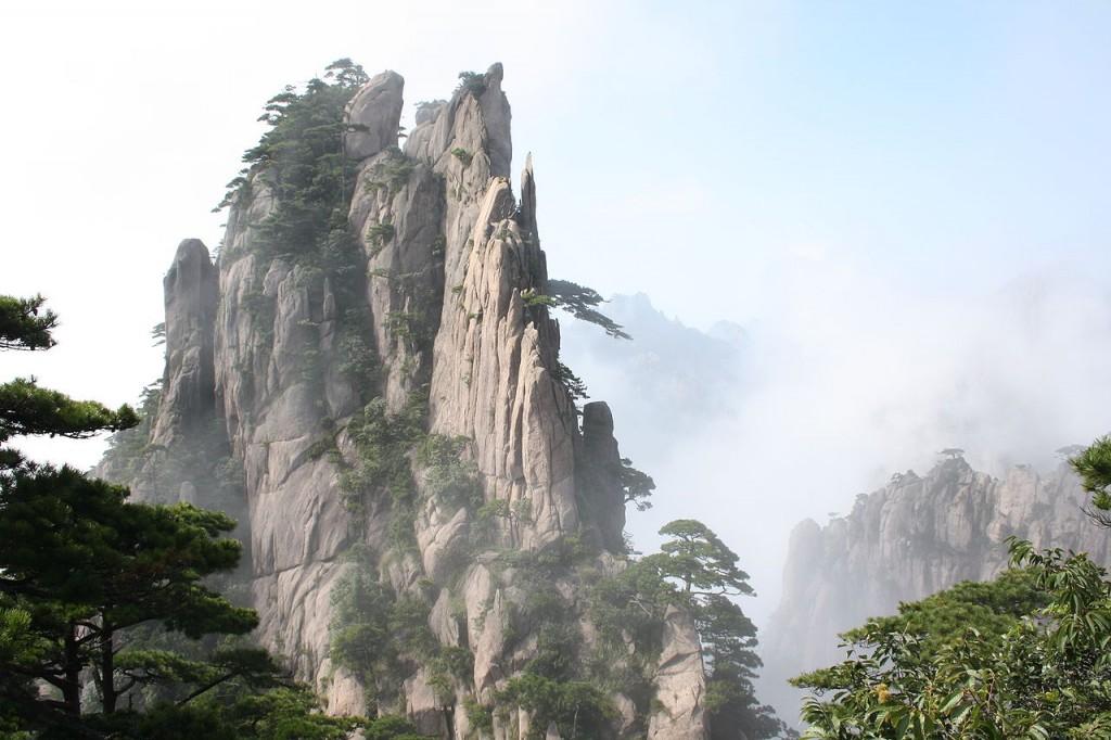 Huang Shan Mountains, China photo