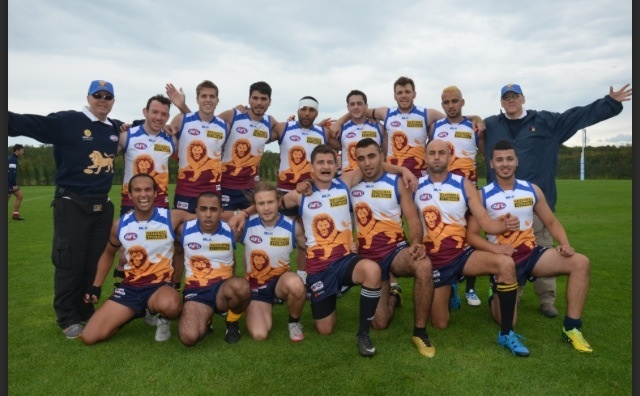 Jerusalem Lions Peace Team at Axios Euro Cup 2015