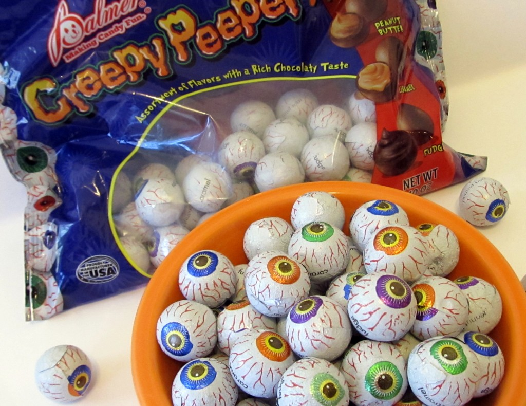 Creepy Peepers is among a slew of Halloween candies certified kosher. (Edmon J. Rodman)