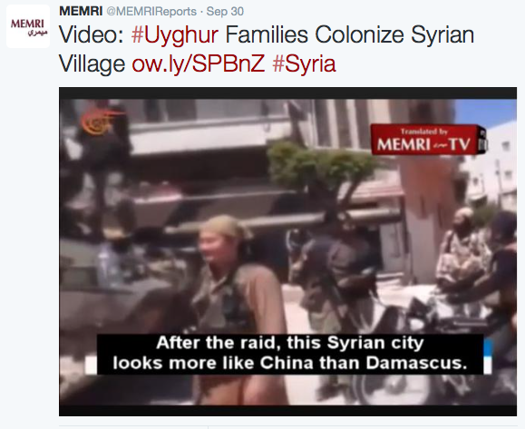 Uyghur Colony Syria