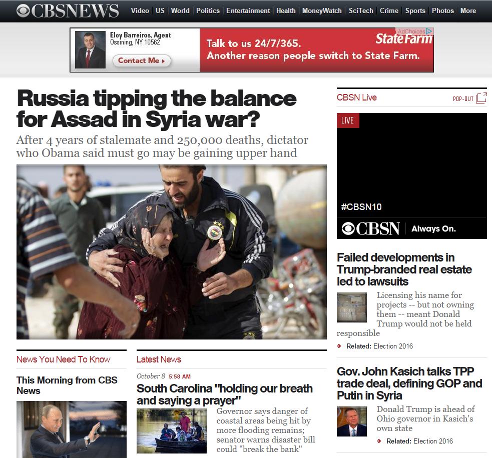 CBS News Homepage