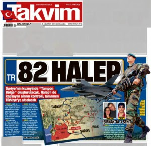 Turkey's 82nd province, Takvim-5-August-2015