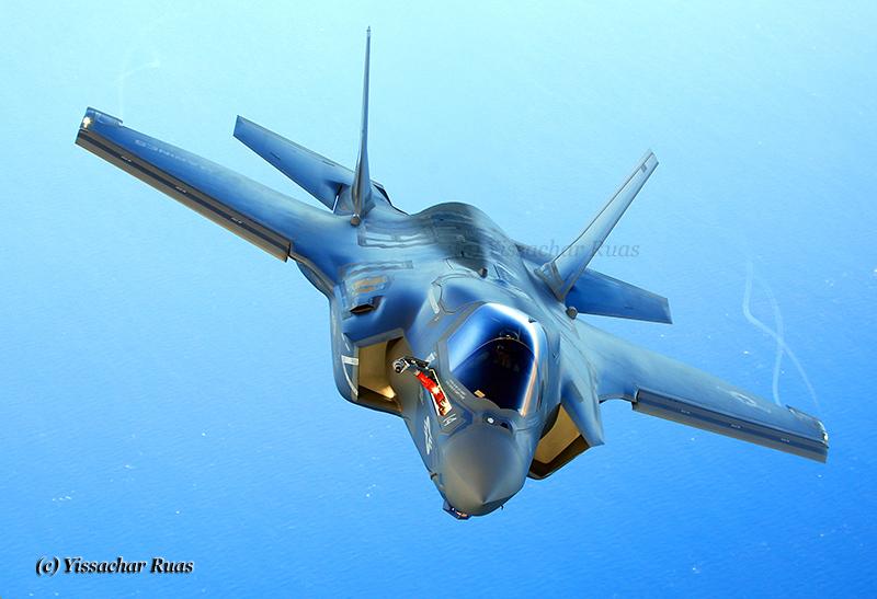 USMC F-35B © Yissachar Ruas