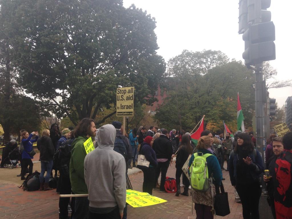 White House Protestors