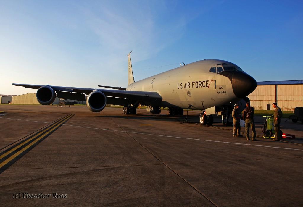 USAF KC-135 Tanker - © Yissachar Ruas