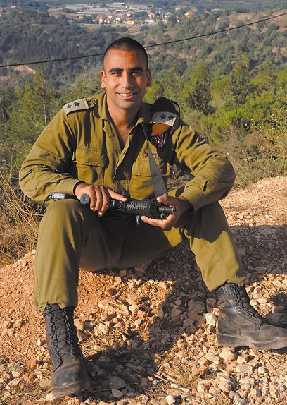 Lieutenant Colonel Shai Siman-Tov in better days-Photo Avihu Shapira