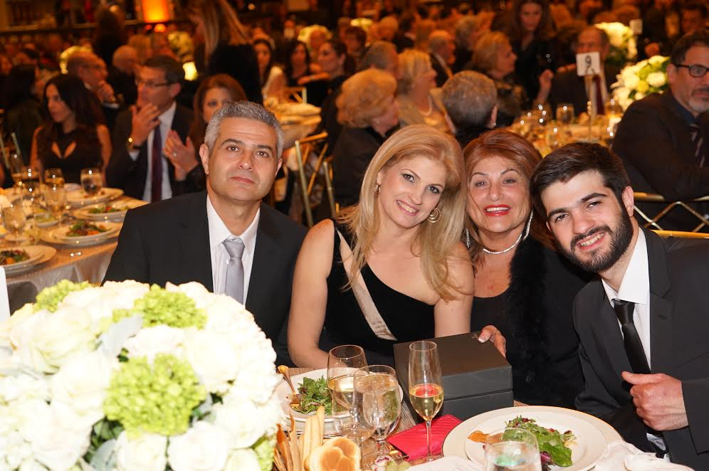 R-Hero Adiel Levy, guest Genia Varsha, Anat and Uziel Levy, Adiel's parents-Photo Orly Halevy