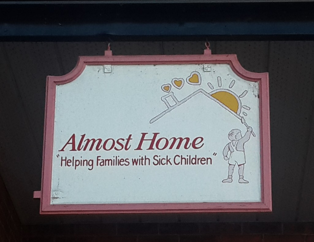 almost home entry sign