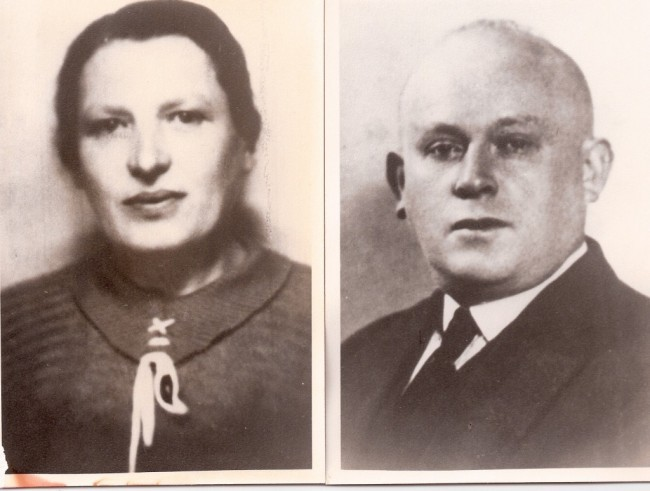 My maternal grandparents, Avraham and Ida (Yehudit) Ehrenreich