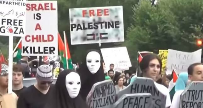 Making Jews monster-Pro-Palestinian events at US campuses on rise - Photo dailysabah.com