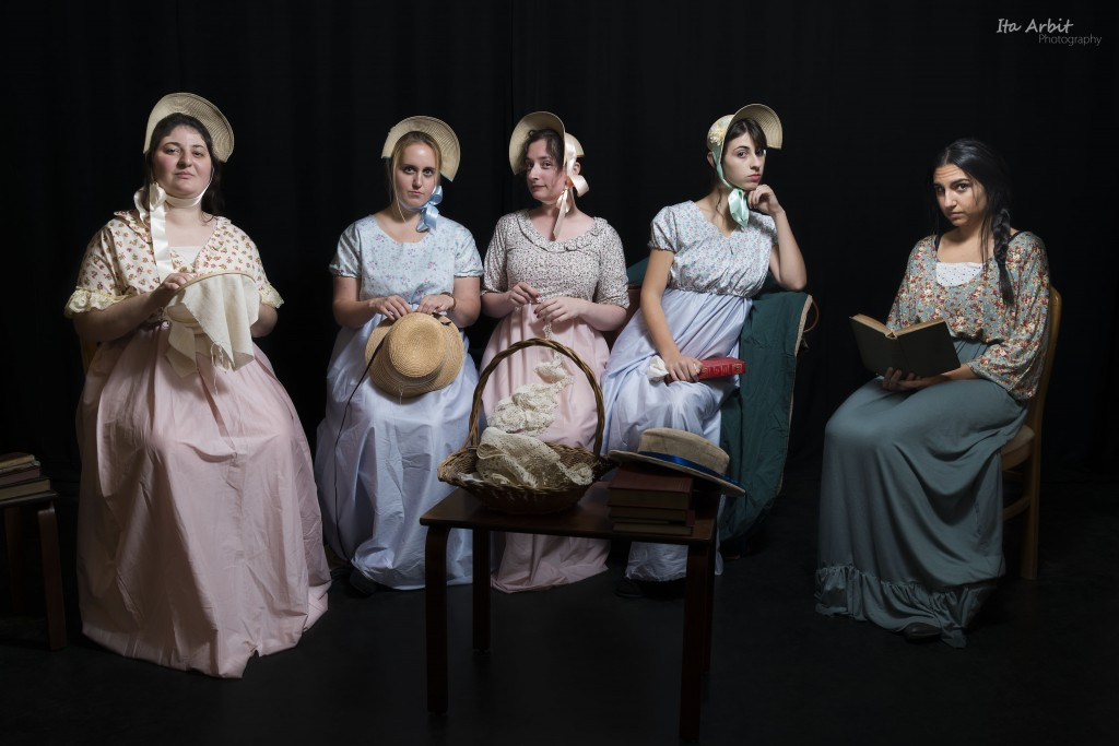 AACI's J-Town Playhouse Production of Jane Austen's Pride and Prejudice - Running from Dec. 3rd - 23rd (Credit: Ita Arbit)