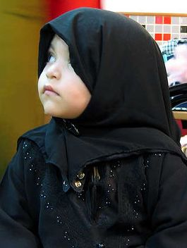 photo of hijab-wearing child