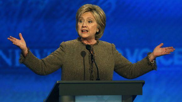 Hillary Clinton at Dec. 19 Democratic Debate