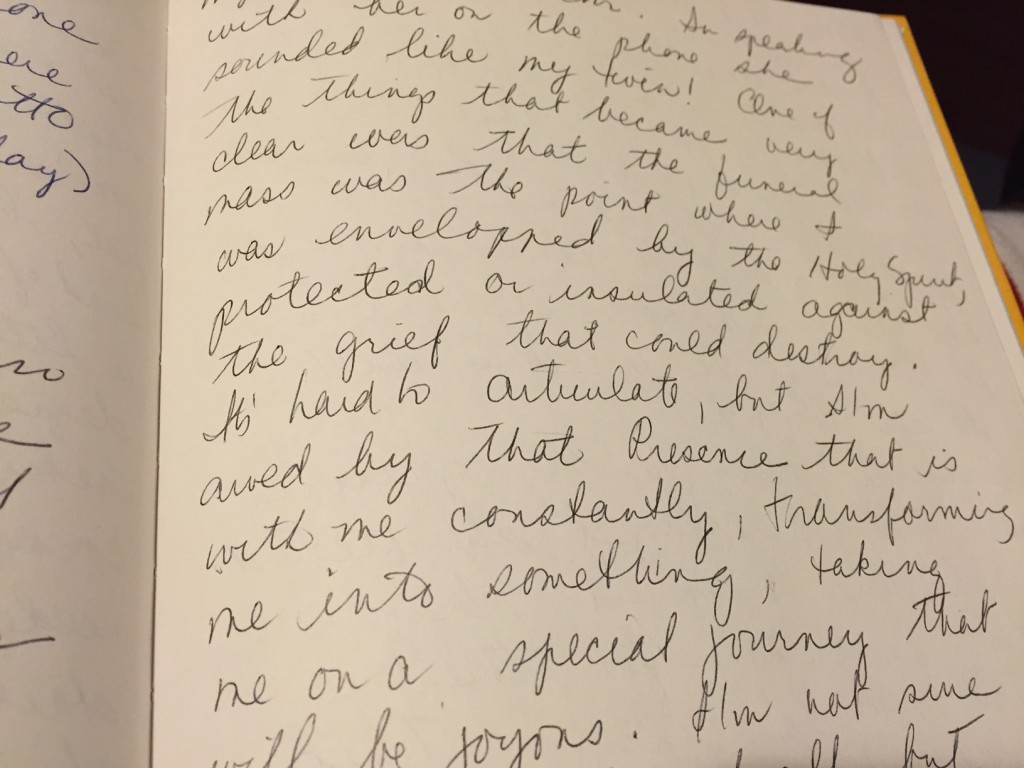 A page from the 1995 diary of Audrey Leonard Borschel. (courtesy)