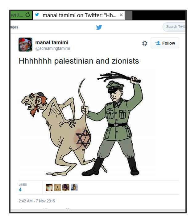MTamimi Pals and Zionists