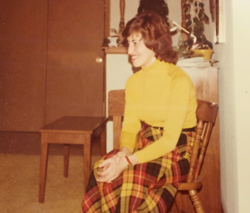My mother Audrey Leonard Borschel shortly after my birth in 1975. (courtesy)