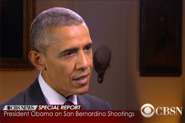 Obama San Bernadino