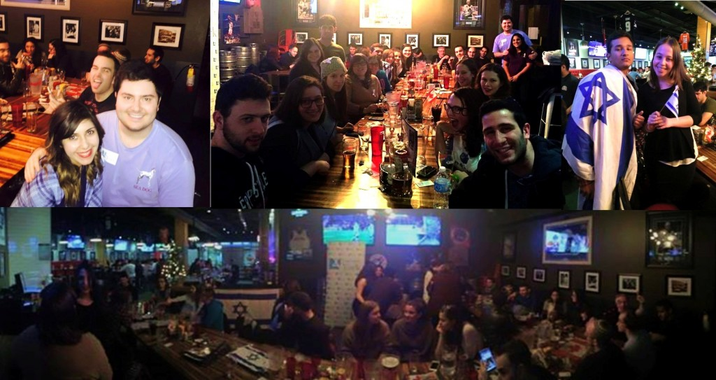 End of Semester Pubnight, December 6th, 2015. photo: Hasbara York