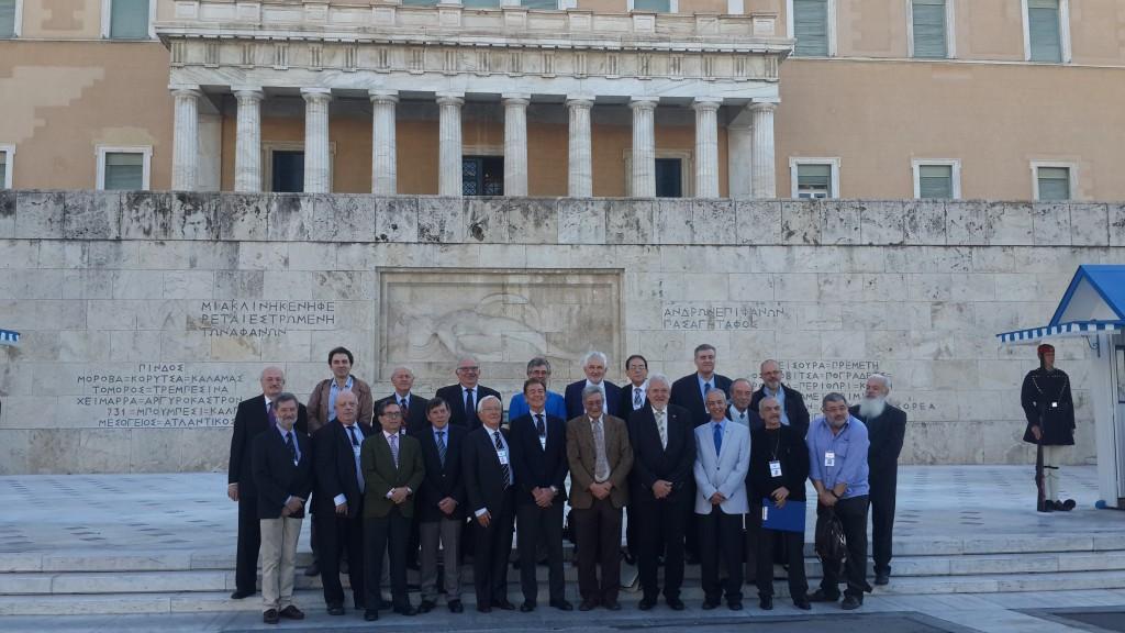 fig 4. International Jury - Greek Parliment