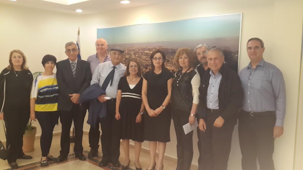 fig 6. Israeli Embassy