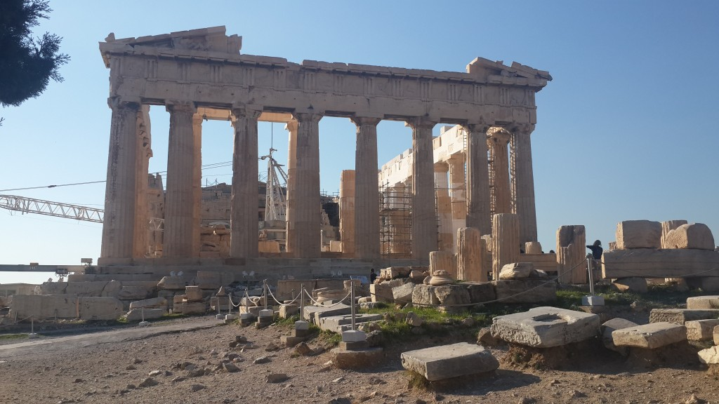 fig 8. Athens Acropolis