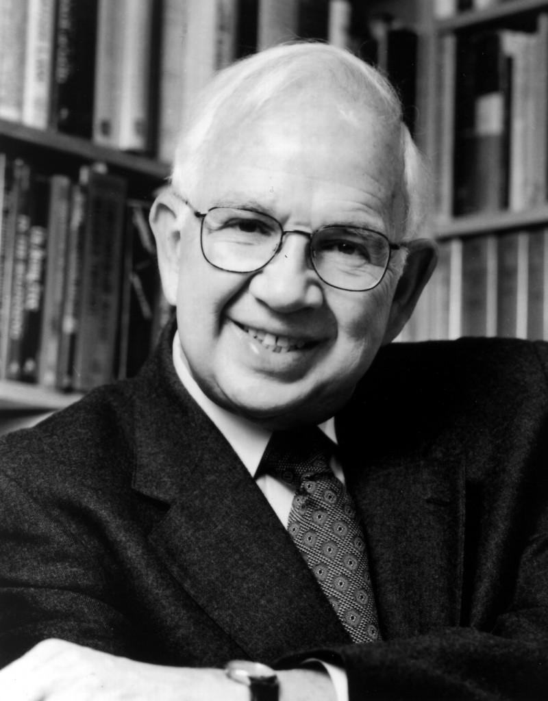 B&W photo of Rabbi Kushner