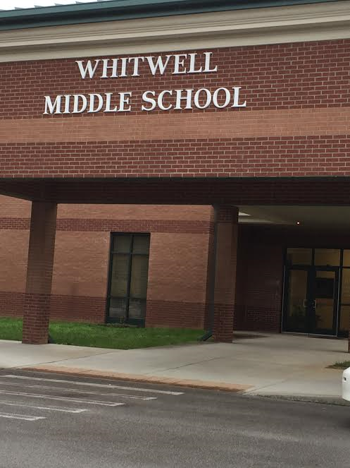Whitwell Middle School entrance