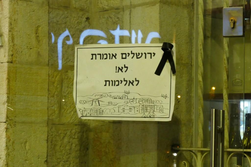 jerusalem nonviolence