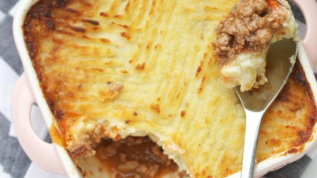 Ultimate comfort food: shepherd's pie. (YouTube screenshot)