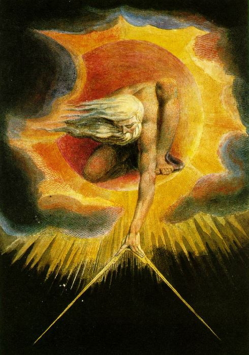 The Ancient of Days by William Blake (Wikimedia Commons)