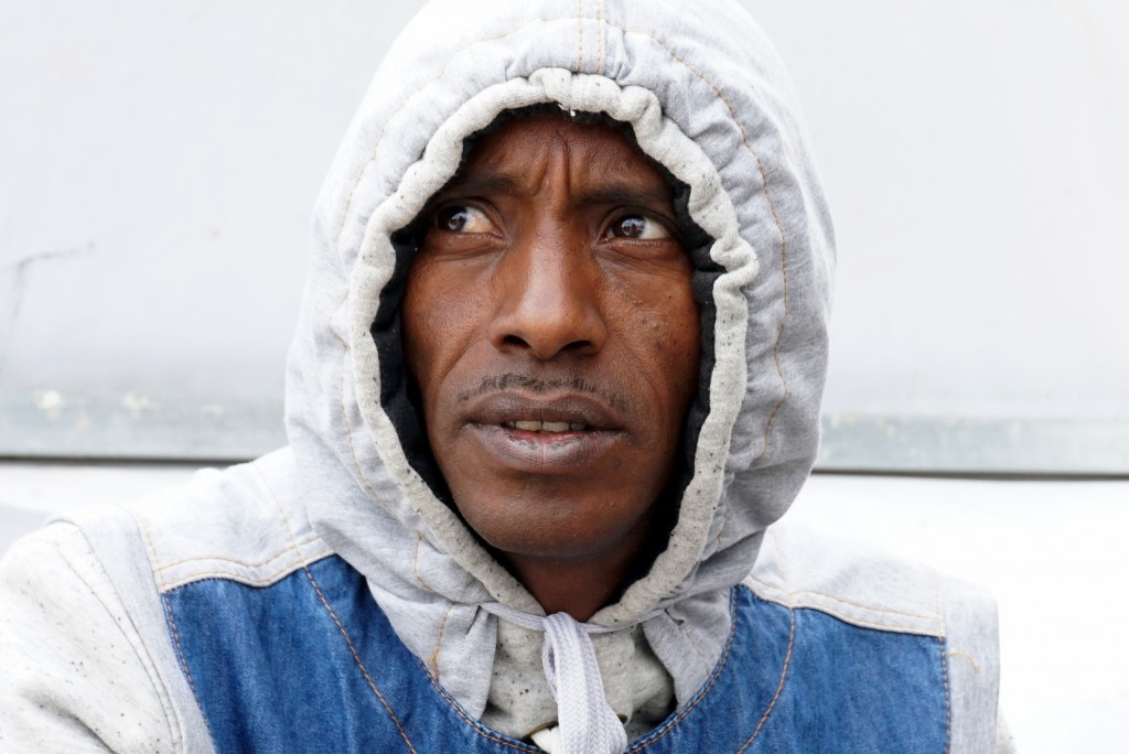 An Eritrean Refugee, Johnny (published with his permission) Photo: Becca Strober