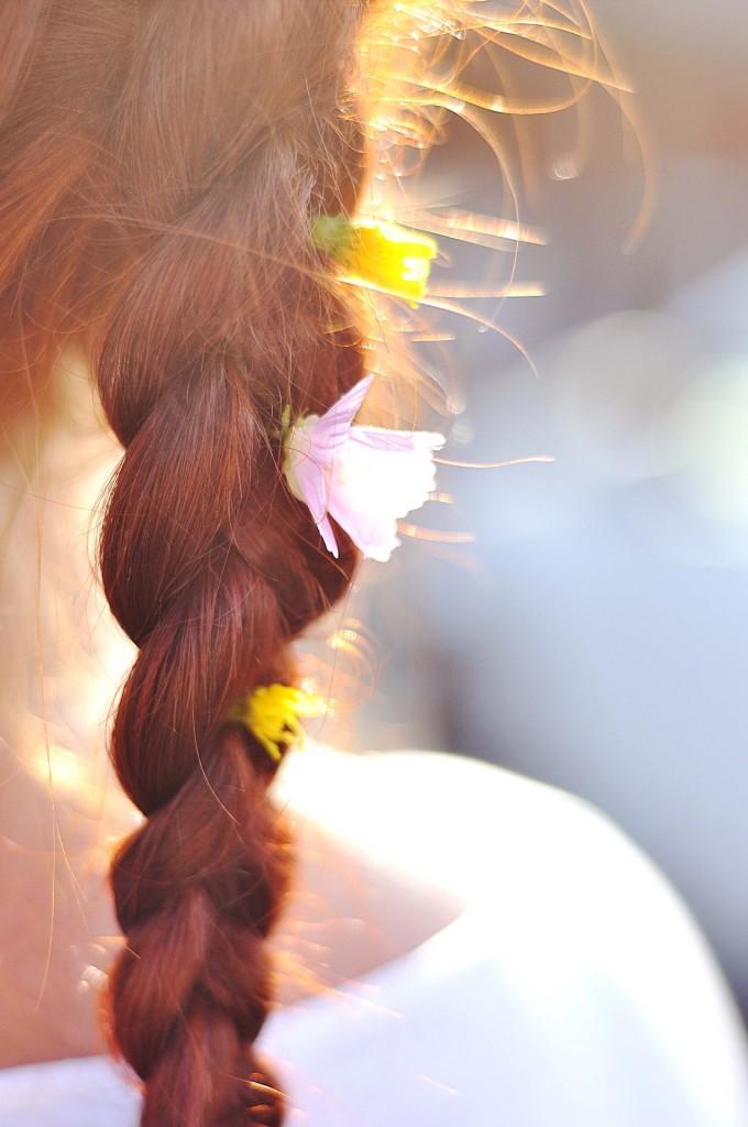 https://pixabay.com/en/hair-braid-flowers-summer-red-741769/