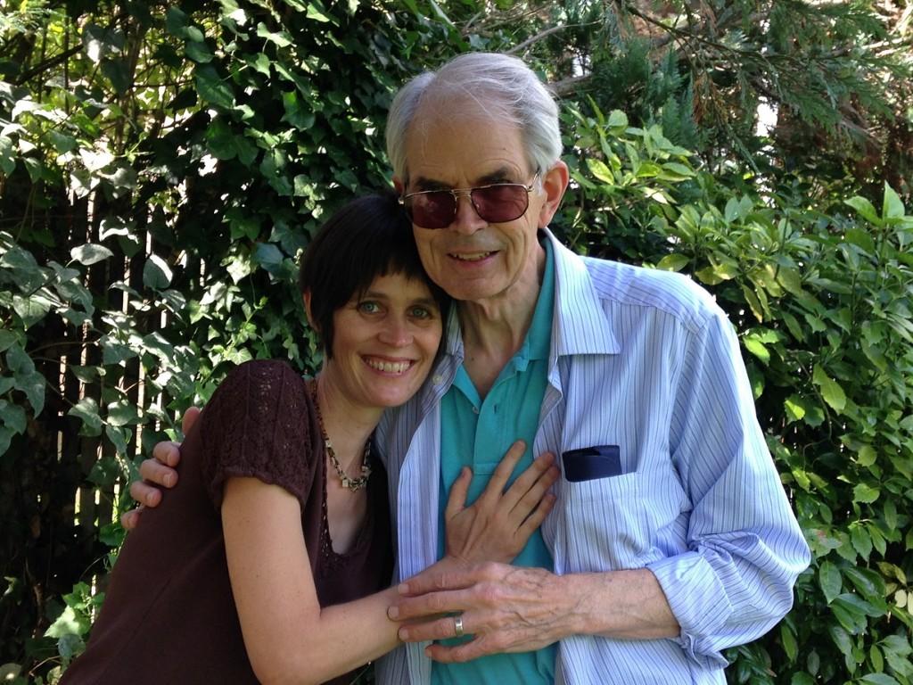 Saskia and her dad