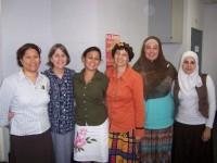 Christian, Jewish and Muslim women facing common issues, Sydney 2009. Peta Jones Pellach