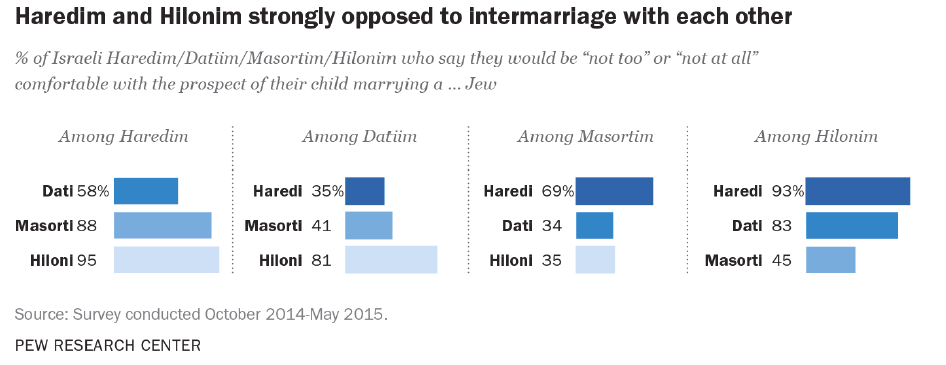 Jews Marrying Different Jews Pew Report