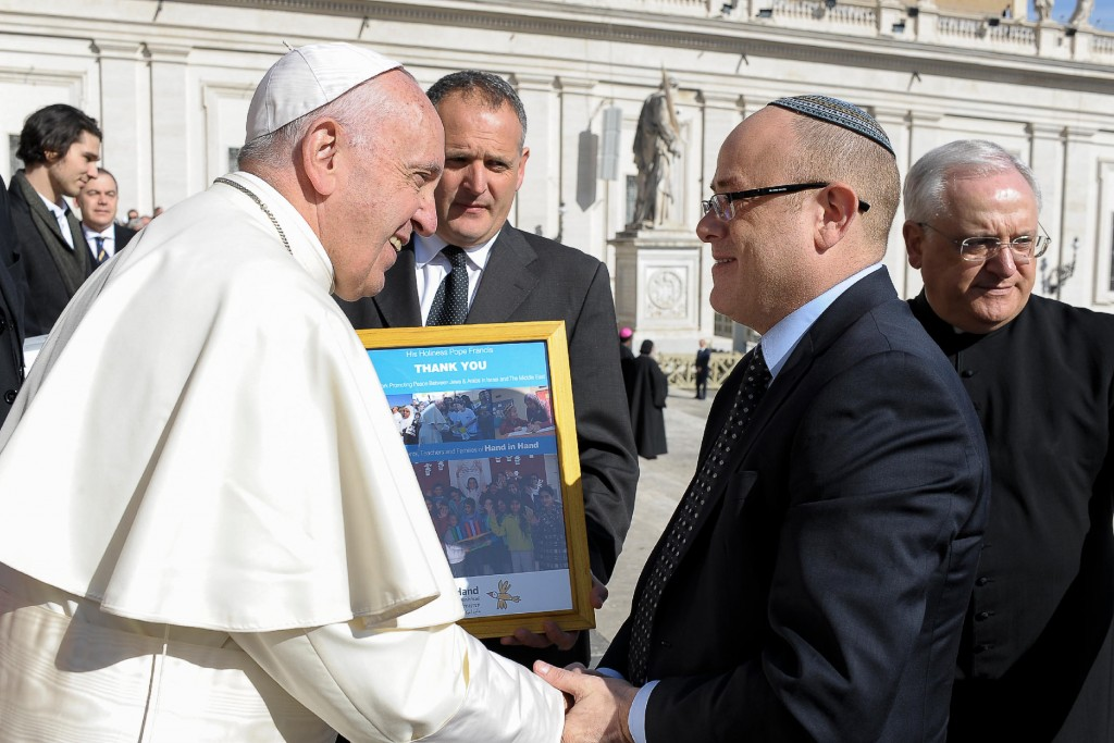 Rabbi Perton & Pope Francis