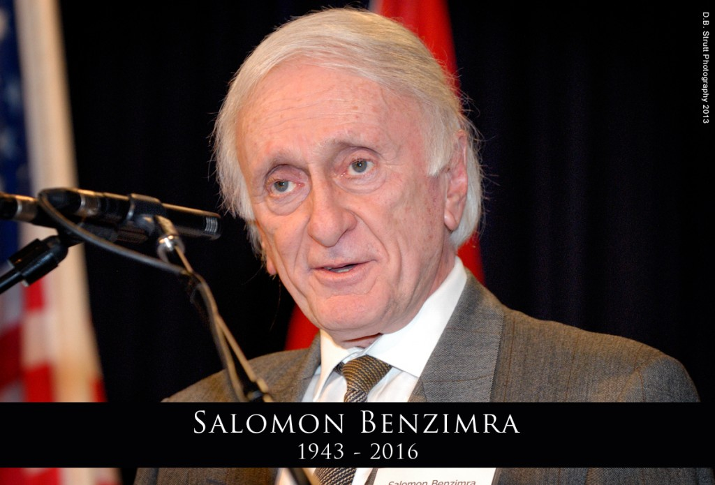 Salomon Benzimra, Author of 'The Jewish Peoples' Rights To The Land Of Israel'