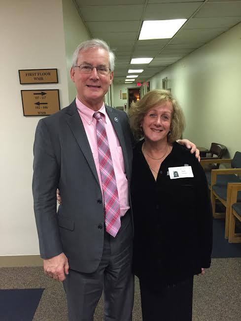 Tennessee Representative David Alexander with Nurit Greenger