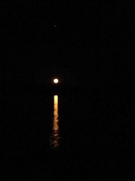 Sinai Moonrise, photo by Ruthi Soudack