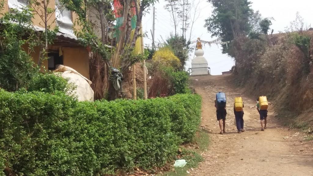 In Manegau village, April 2016 (Iddo Gefen)