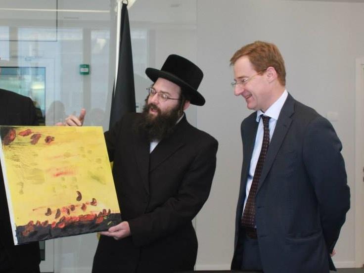 Photo Courtesy of Embassy of Belgium in Tel Aviv