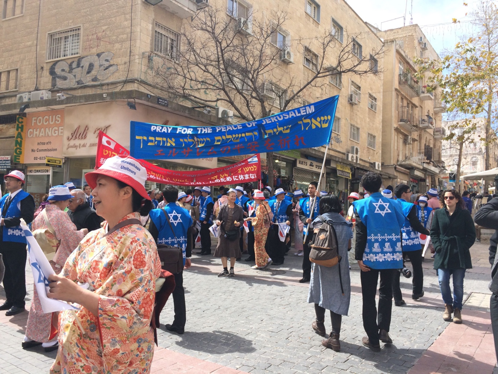 Chinese peace mission to Israel on March 6th